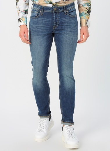 Jack & Jones Jack & Jones 12170103 Denim Pantolon Mavi